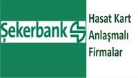 Şekerbank Hasat Kart Anlaşmalı Firmalar