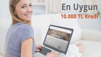 10.000-TL İhtiyaç Kredisi Karşılaştırma