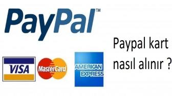 Paypal kart nasıl alınır