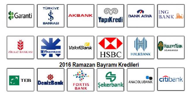 En Hesaplı Bayram Kredisi Veren Banka Haziran 2016